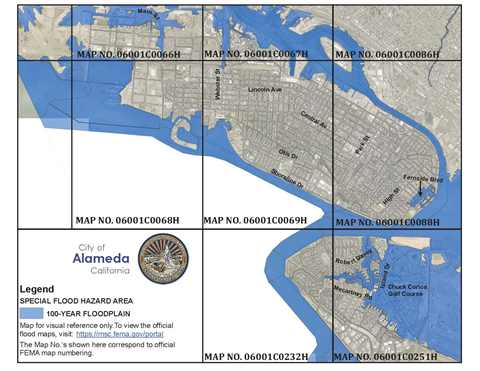 Flood Plain Mailing Map